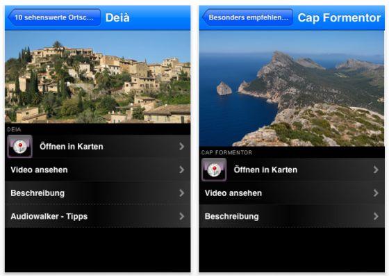 Mallorca Reiseführer Mallorca Essentials für iPhone und iPod Touch