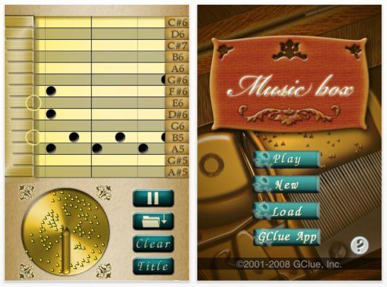 App Musicbox für iPhone und iPod Touch Screenshot