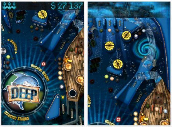 The Deep Piunball für iPhone und iPod Touch