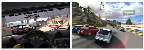 Real Racing 2 für iPhone und iPod Touch Screenshots