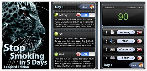 Stop smoking in 5 days - Leopard Edition Screenshots