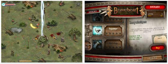 Braveheart HD für iPad Screenshot