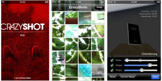 Crazy Shot iPhone App Screenshot