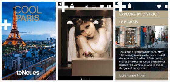 Cool Paris City Guide für Paris Screenshot der iPhone App