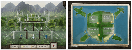 Nur für das iPad: Burgen zerstören mit dem Tribock