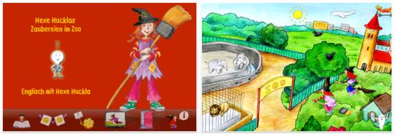 Hexe Hucklas Zaubereien im Zoo bis 21. September kostenlos für iPhone, iPod und iPad