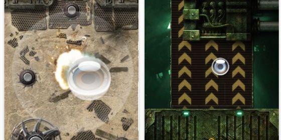 Geschicklichkeitsspiel Dark Nebula 2 für iPhone und iPod Touch kurzzeitig kostenlos