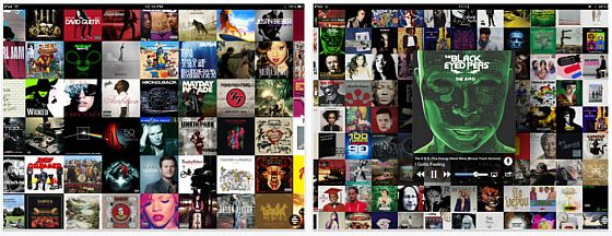Wall of Sound für iPhomne, iPod Touch und iPad - Screenshot iPad
