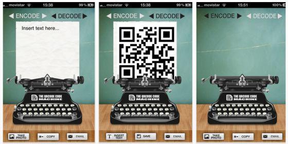The QRCode Machine Screenshots