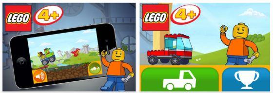 Lego 4+ App für iPhone und iPad - Screenshots