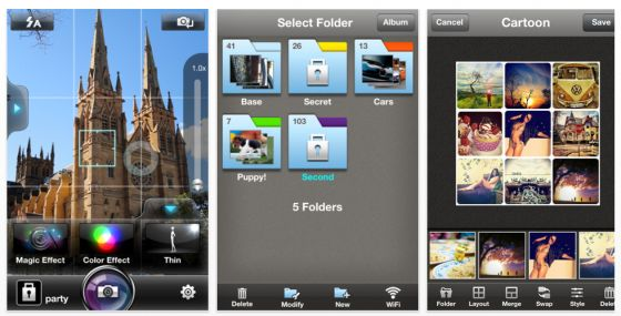 WoW Camera Pro Screenshot der iPhone Foto App