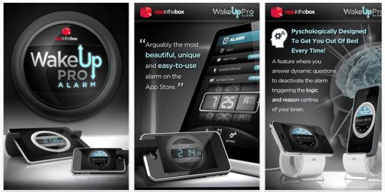 Schöne Wecker-App für iPhone, iPod Touch und iPad gerade gratis