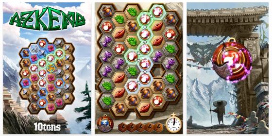 Kombinationspuzzle Azkend heute kostenlos für iPhone und iPod Touch