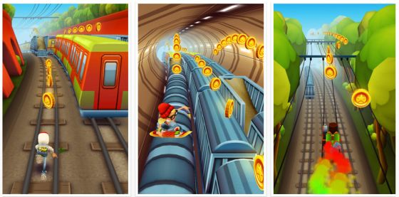 Subway Surfers für iPhone, iPod Touch und iPad
