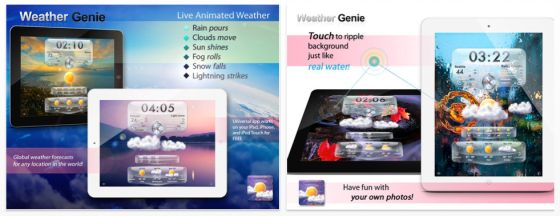 Schöne Wetter-Universal-App gerade kostenlos für iPhone und iPad
