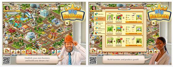 Big Business HD - Wirtschaftssimulation für das iPad