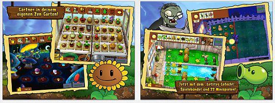 Pflanzen gegen Zombis HD Screenshots