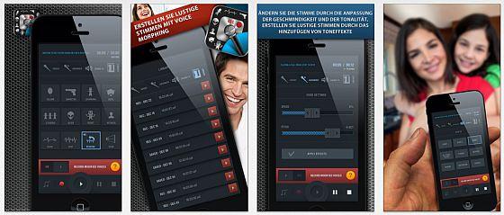 Stimme Änderung für iPhone und iPod Touch