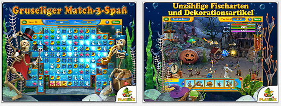 Fishdom: Spooky Splash Screenshots