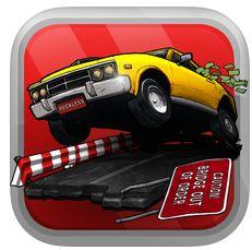 Als Fluchtfahrer bist Du im heute kostenlosen Reckless Getaway für iPhone und iPad unterwegs