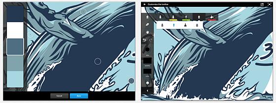 Adobe Ideas für iPad Screenshots