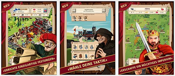 Empire: Four Kingdoms Screenshots