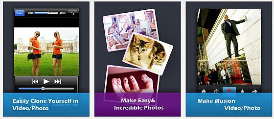 Man kann die App nicht nur zum Klonen verwenden, wie das rechte Bild zeigt, sind damit auch andere überraschende Effekte darstellbar. Split Lens 2 ist sehr einfach in der Bedienung und liefert ordentliche Ergebnisse - wenn man sich etwas anstrengt und die Bildkomposition vorher überlegt.