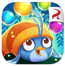 Neues Spiel Angry Birds Stella POP: Diesmal Bläschen per Katapult verschießen