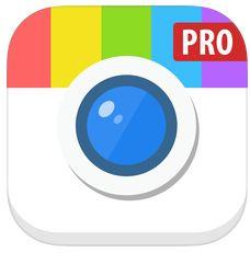 Camly Pro für iPhone und iPad heute kostenlos – sehr große Filter- und Stickerauswahl