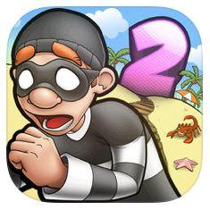 Einbrecherspiel Robbery Bob 2 nach Update kurzzeitig kostenlos für iPhone und iPad
