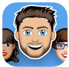 Mit dieser gerade kostenlosen App kannst Du Dich als Emoji nachbauen