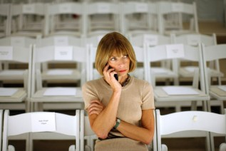 Anna Wintour Photo by Wall Street Journal