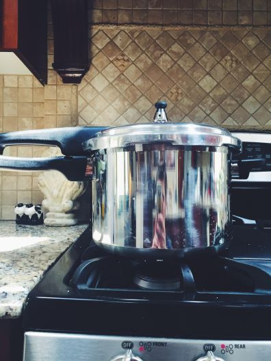 The big, bad, terrifying pressure cooker!