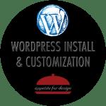 WordPress Install & Customization