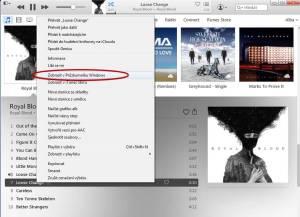 Zobrazte skladbu v Průzkumníku Windows