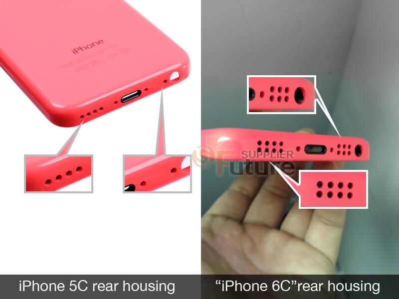 Údajný kryt připravovaného modelu Apple iPhone 6c