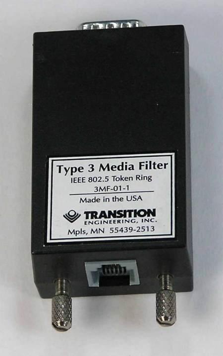 Token Ring Media Filter
