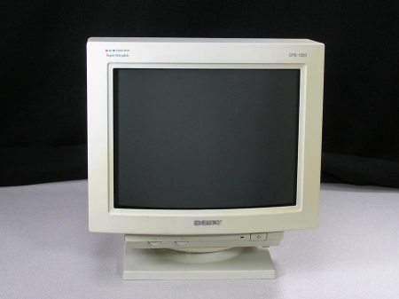 Sony Trinitron Character Display CPD-1320