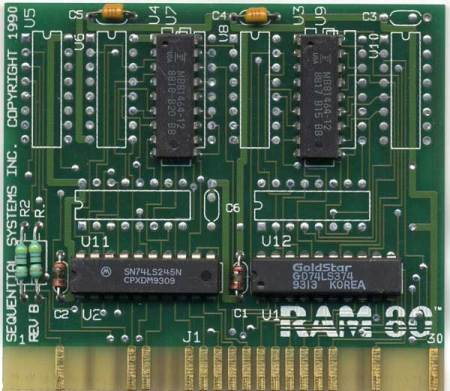 RAM 80 (1990) Apple IIe