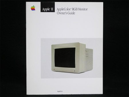 AppleColor RGB Monitor Owner's Guide (IIGS)