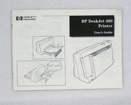 HP DeskJet 400 Printer User's Guide