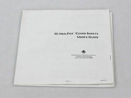 Global Village ~ GlobalFax Cover Sheets
