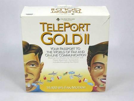 Global Village Teleport Gold II External Fax Modem (Serial)