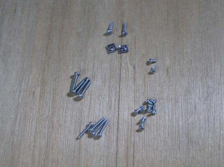Apple IIc Screws – Case, Drive and Motherboard