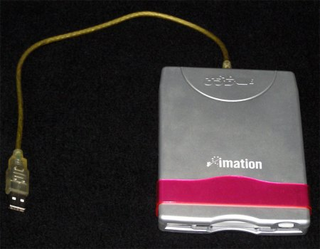 Imation USB Floppy Disk Drive