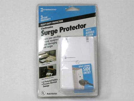 Intermatic 6 Outlet Surge Protector