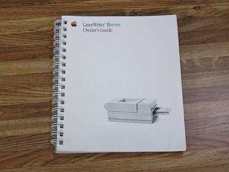 LaserWriter IINT/NTX Owner's Guide IINT IINTX