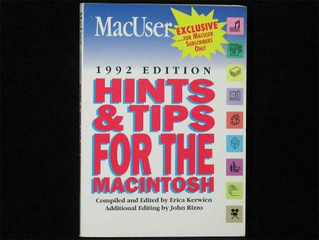 MacUser Hints & Tips For The Macintosh
