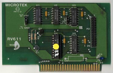 Microtek RV611 Parallel Printer Card
