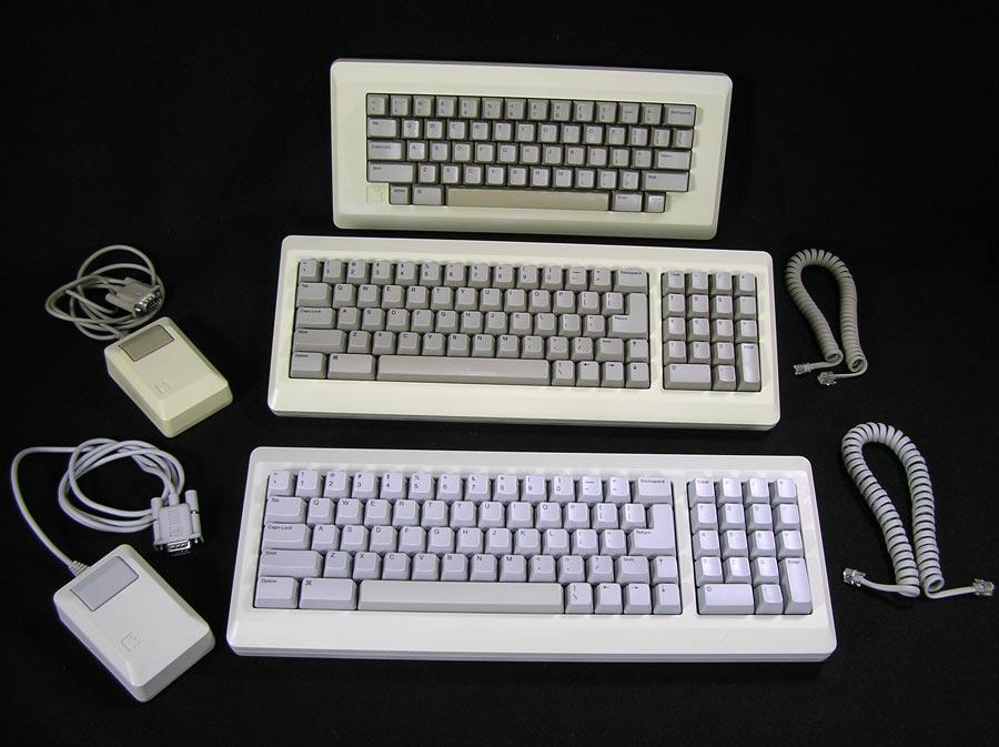 Apple Macintosh Plus M0110A Mac Keyboard Beige